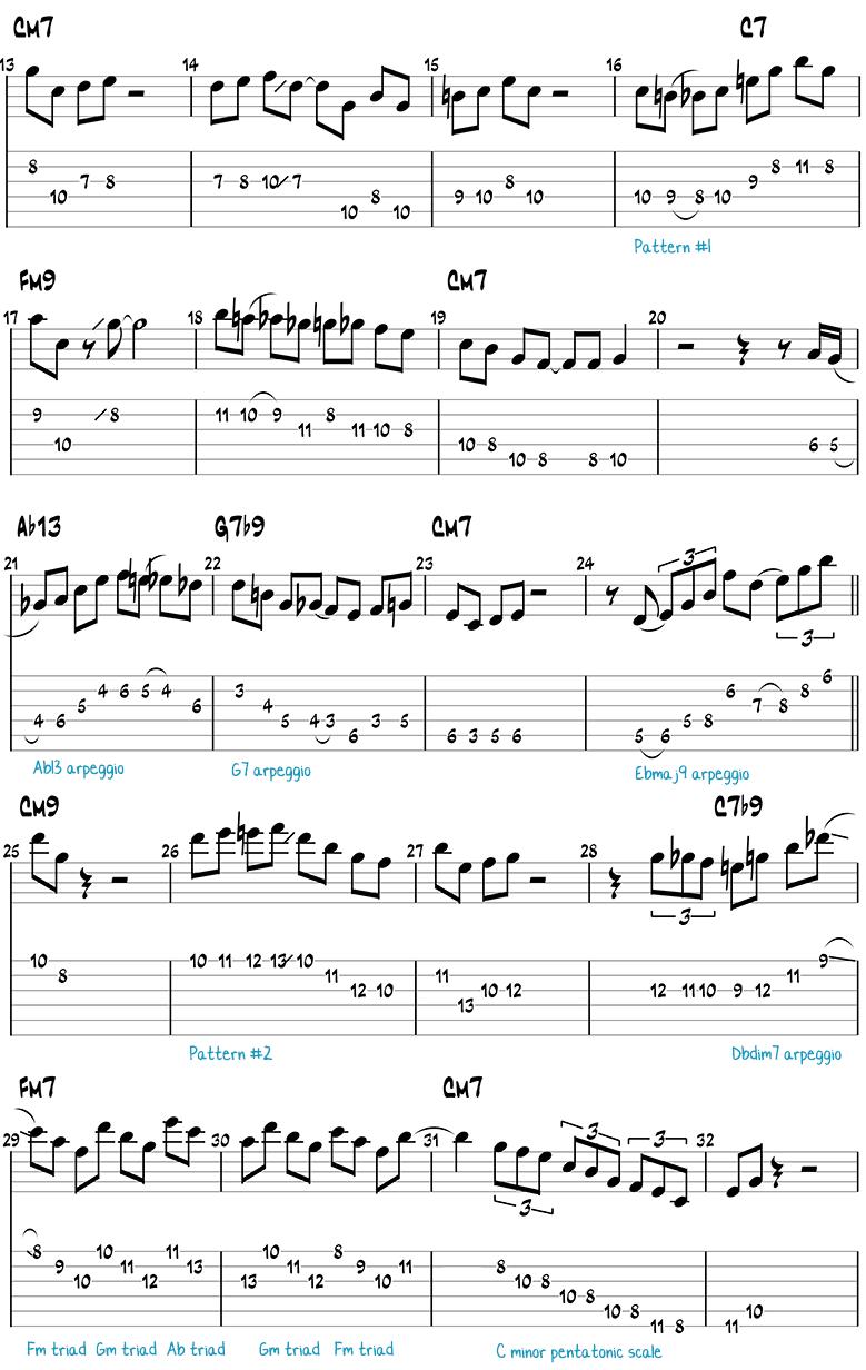Mr. PC guitar solo page 1
