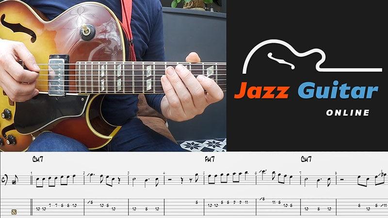 Mr. PC Jazz Guitar Lesson
