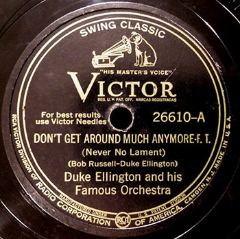 Duke Ellington - Dont Get Around Much Anymore