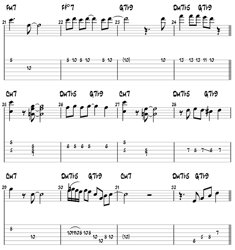 Softly, as in a Morning Sunrise melody page 3