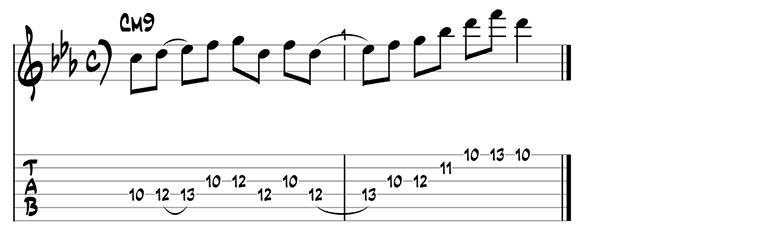 Jazz guitar pattern 4
