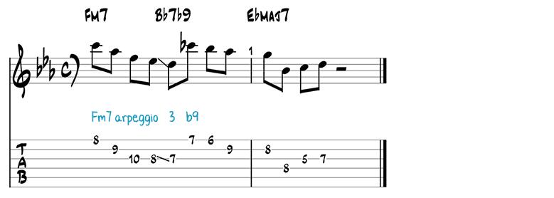 Jazz guitar pattern 5