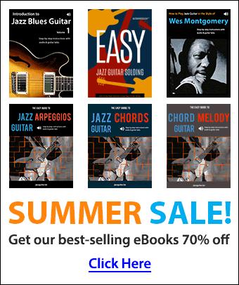 Jazz Guitar eBook Summer Sale