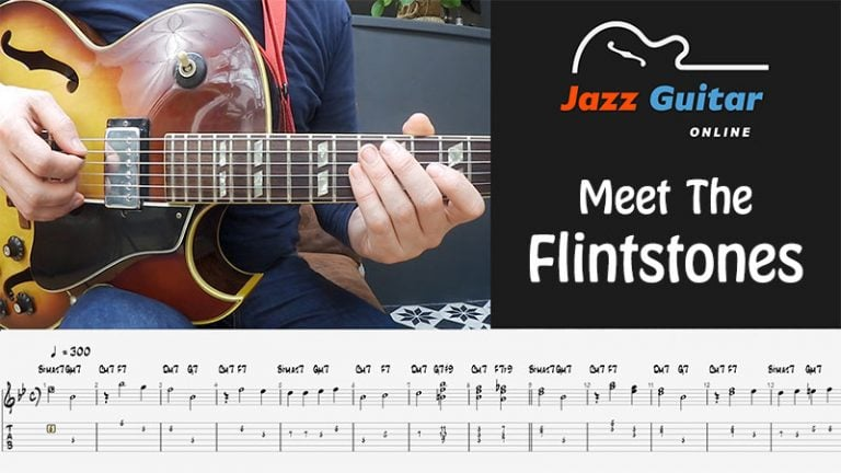 The Flintstones Theme for Guitar