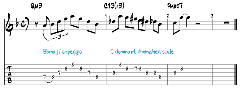 Jazz Pattern 6b