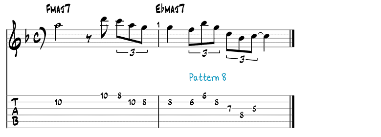 Jazz pattern 8b