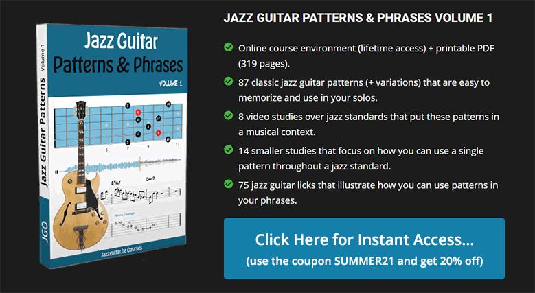 Jazz Guitar Patterns & Phrases Volume 1
