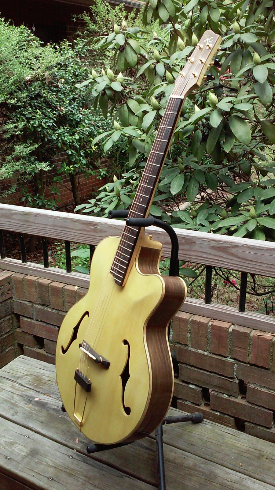 Anyone Tried An Archtop With Walnut Back Sides Number 4 Outside