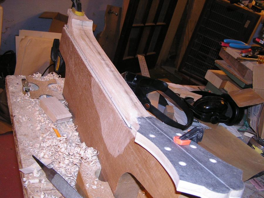 DIY Semi-hollow body guitar-p1010010-jpg