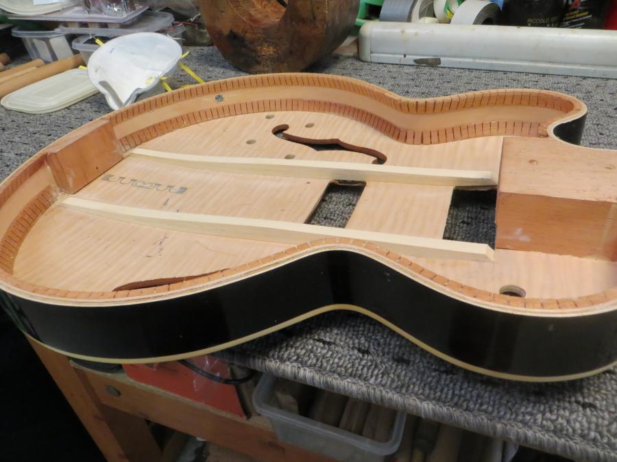 Unfortunate top brace fitting in new Gibson 275-img_0674-jpg