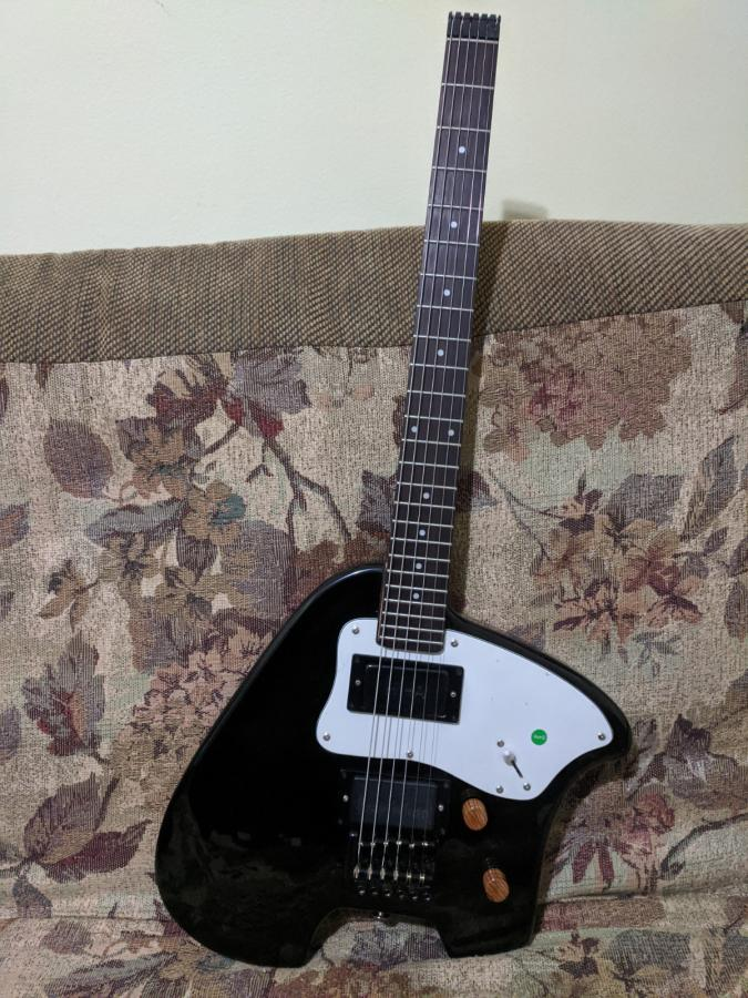 Remaking steinberger spirit to ergonomic style guitar.-after-front-jpg
