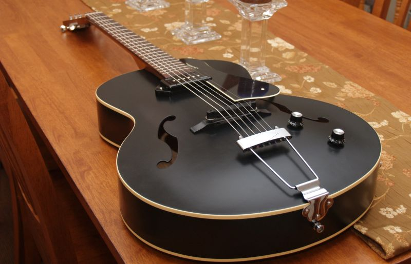 Adding electronics to an acoustic Kingpin-godin002-jpg