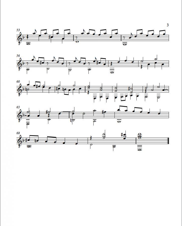 Guitar bach cello suite 1 guitar sheet music : Bach For Guitar