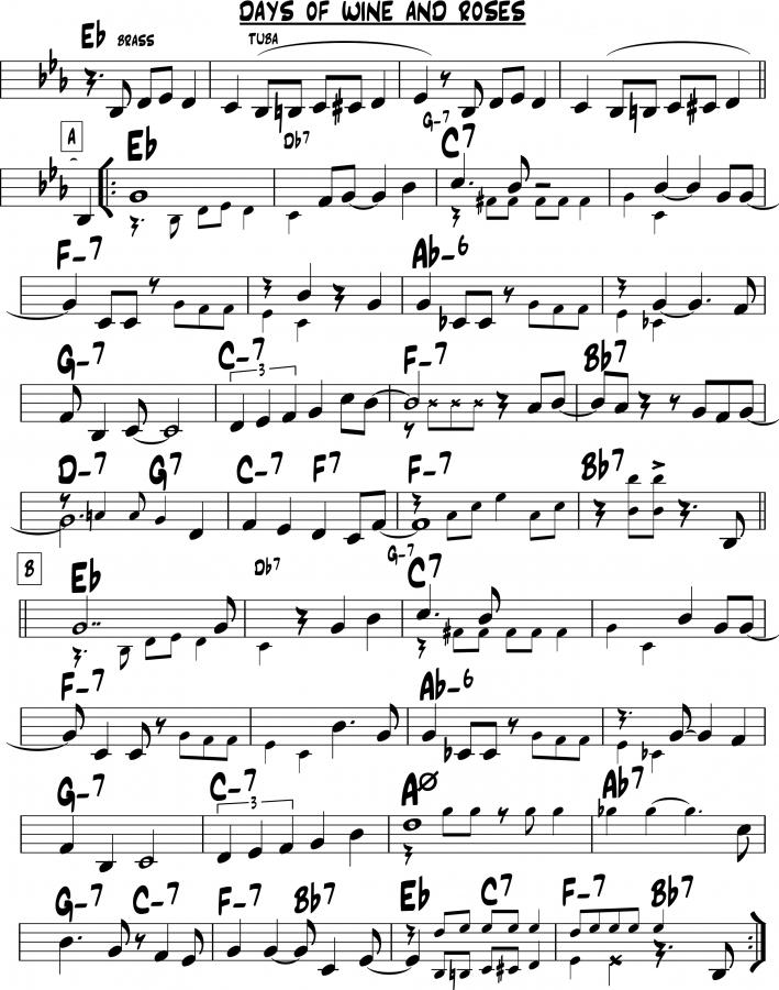 Ten Music Notation Programs (2nd ed.)-days-wine-eb-jpg