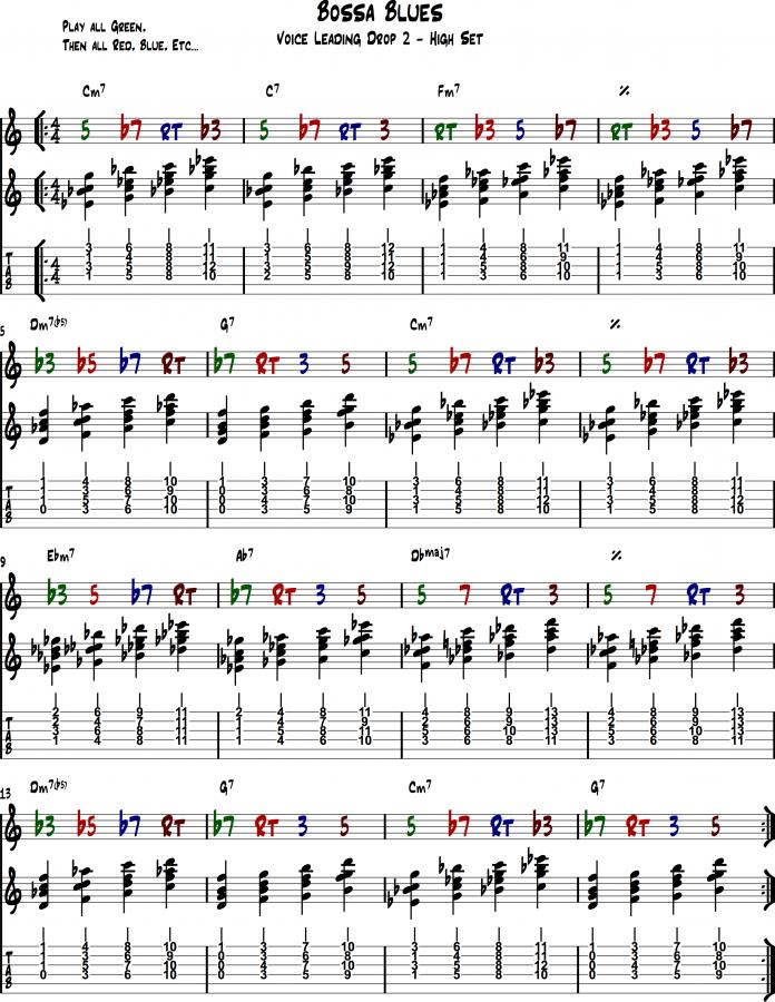 How to build a great jazz chord vocabulary?-bossa_blues_3-jpg