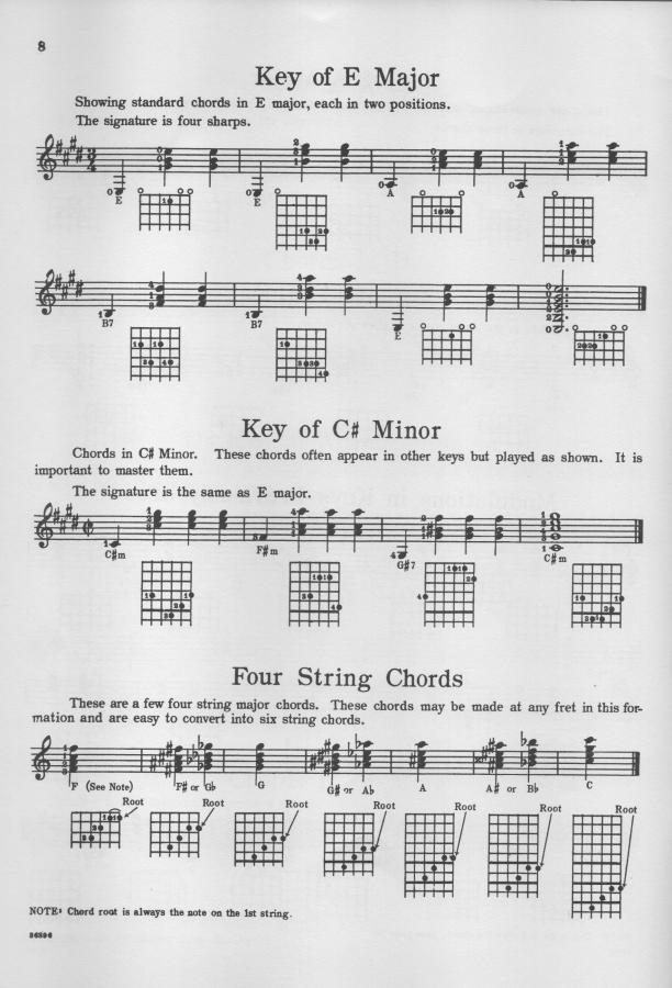 Nick Lucas Chord, Rhythm and Fill-in Book for Guitar-lucas-e-major-jpg