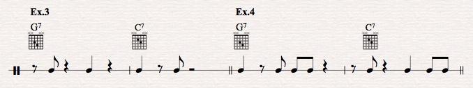 How to master jazz guitar comping rhythms?-ex-3-4-jpeg
