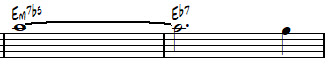 Chord Symbology, Melody, and How to Play-em7b5-note-jpg