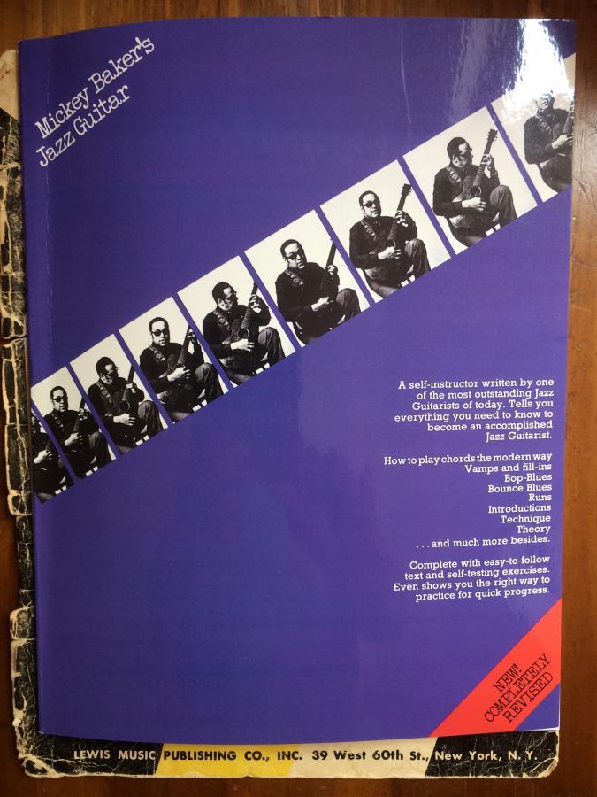 Mickey Baker's Complete Course in Jazz Guitar-book-1-new-original-jpg