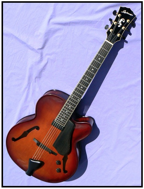 Real Cello Archtop Guitars