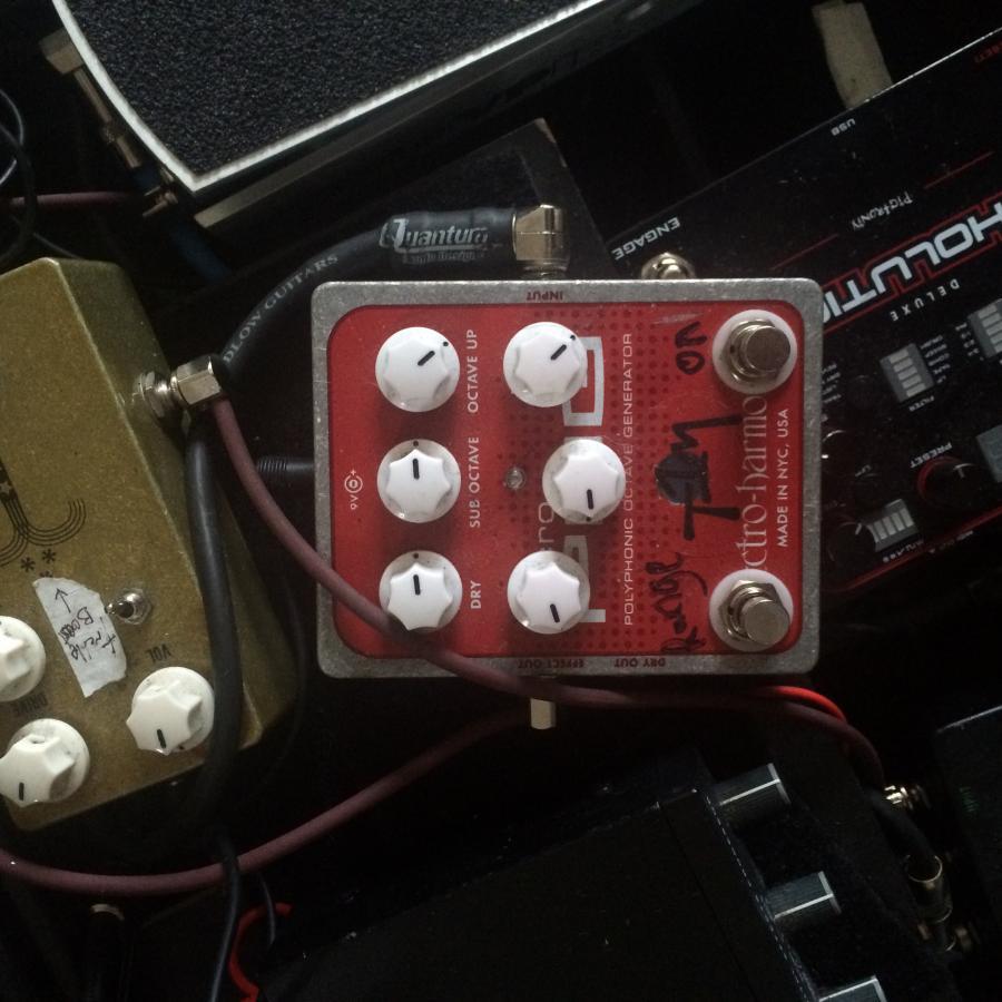 Jonathan Kreisberg's pedals and amp