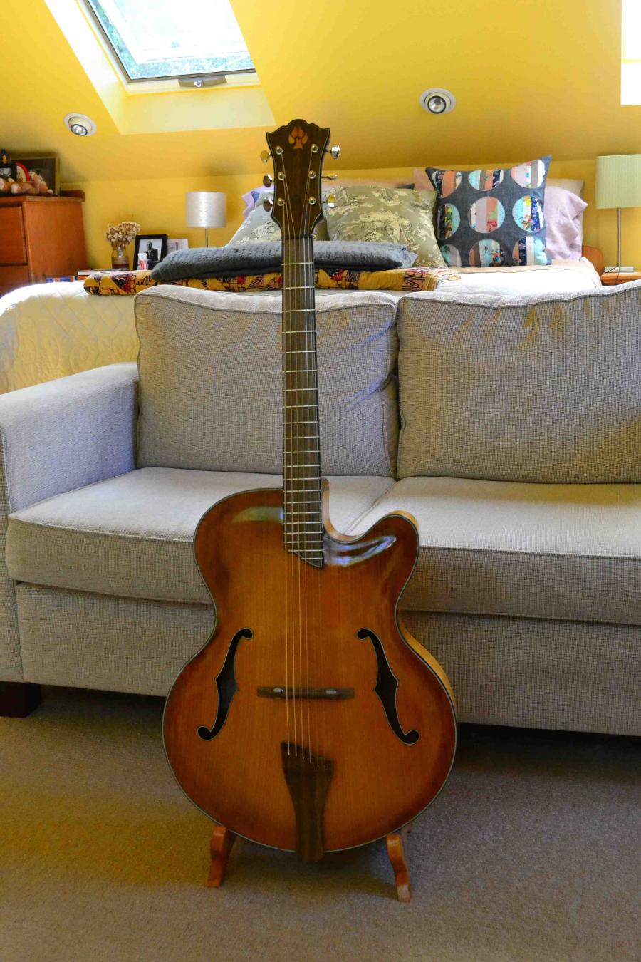 The Hard Way - Building a Jazz Guitar-full-front-jpg