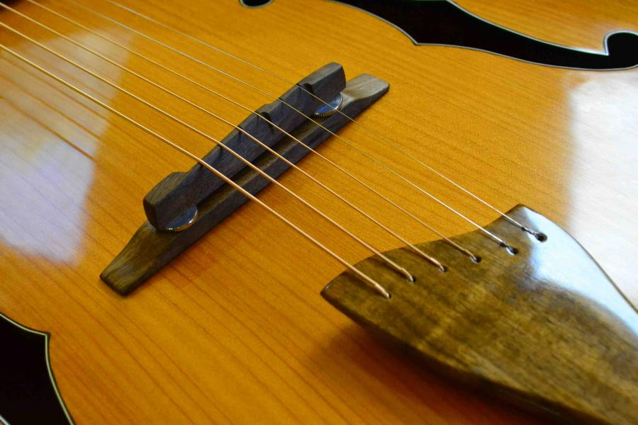 The Hard Way - Building a Jazz Guitar-bridge-1-jpg