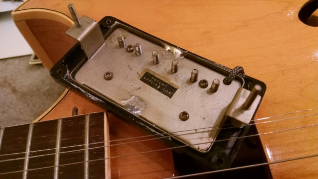 Trend of parting out old guitars