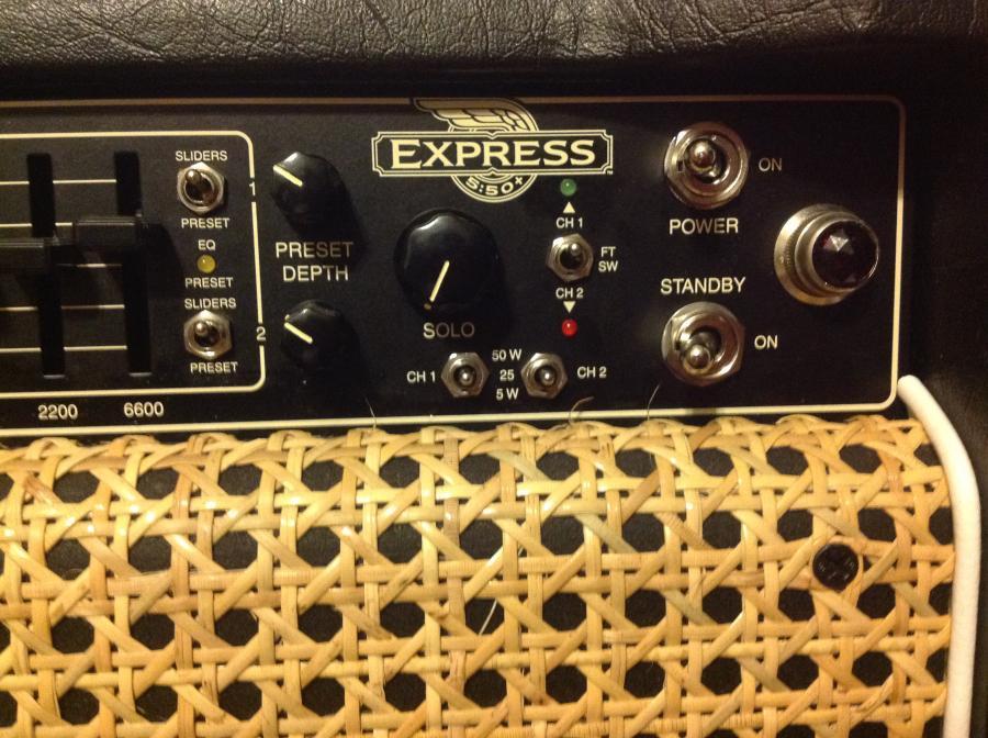 NAD : Mesa Boogie express plus 5:50 Amp + Cab