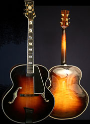 """Incoming - Frans Elferink 18"""" Excalibur-archtop-colour-jpg"""