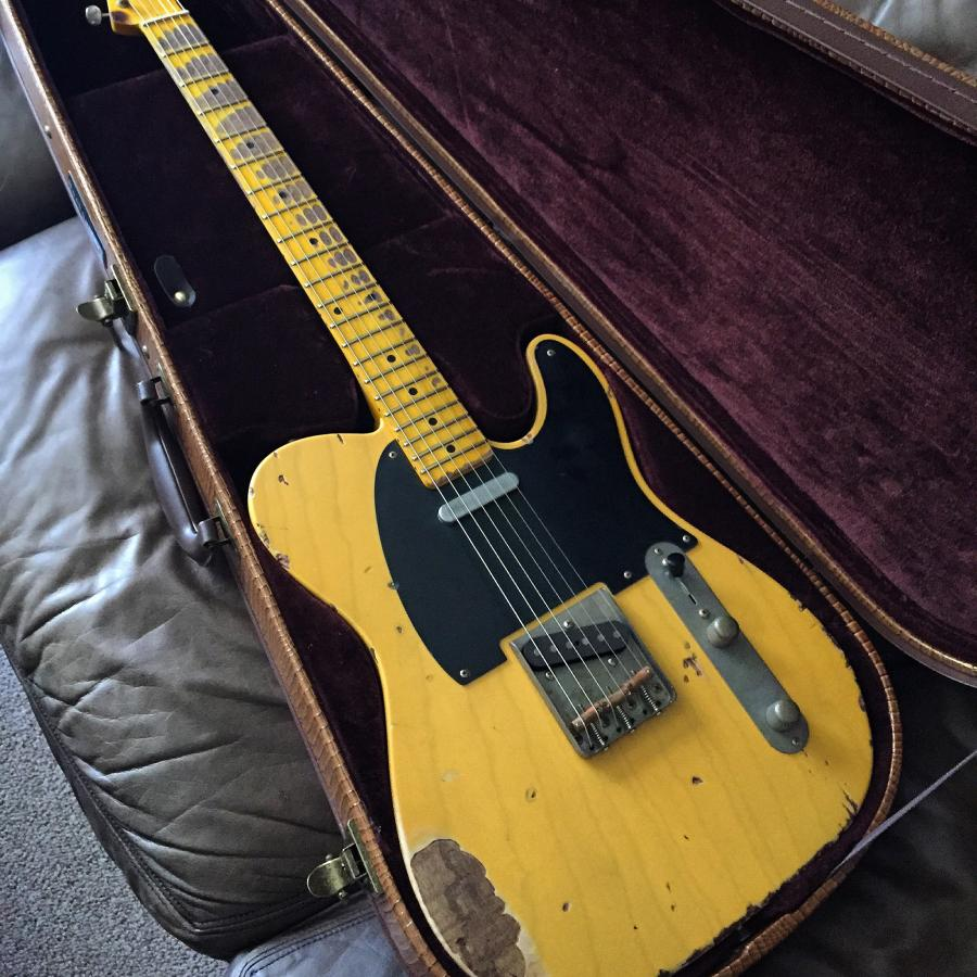 Telecaster Love Thread No Archtops Allowed Page 43 Single Coil 2 Volume Pots Switch Guitar Forum Img 5684
