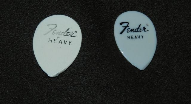 Fender Teardrop Pick : Fender picks