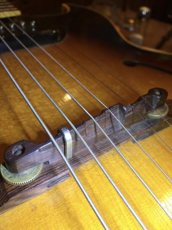 1956 Gibson ES 175-bridge-staple-3-backside-jpeg