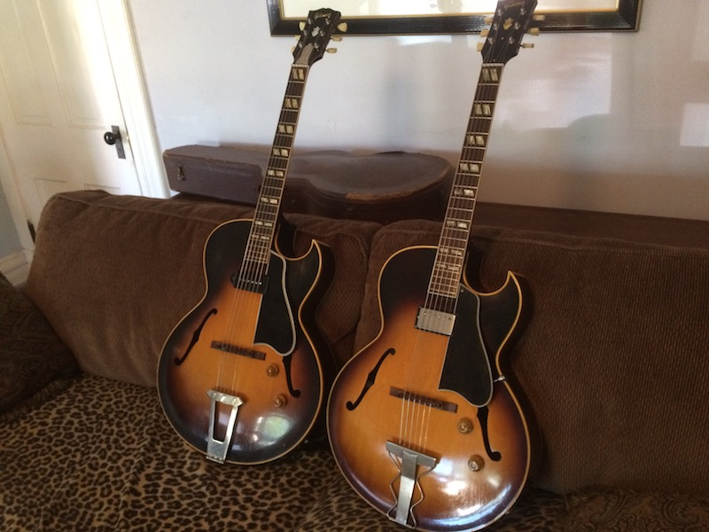 1956 Gibson ES-175-twin-brothers-jpg