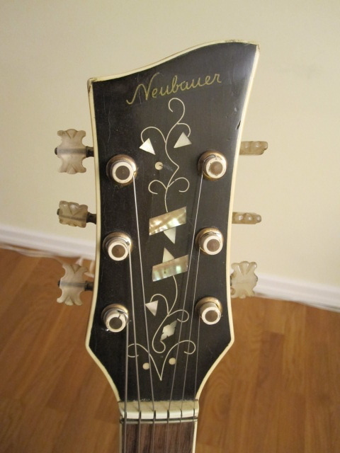 Vintage German Archtops-neubauer-black-split-sound-holes-b-fancy-headstock-jpg