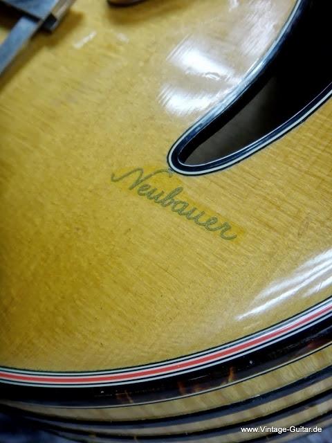 Vintage German Archtops-neubauer-blonde-split-sound-holes-b-logo-jpg