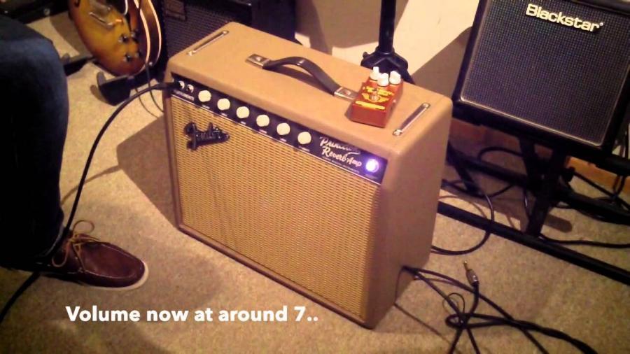 Fender Limited-Edition '65 Princeton Reverb Tan w Celestion Gold-prri-jpg