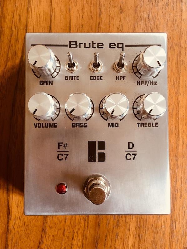Polytone Pre Amp Pedal - Brute EQ-brute-eq-top-lille-jpg