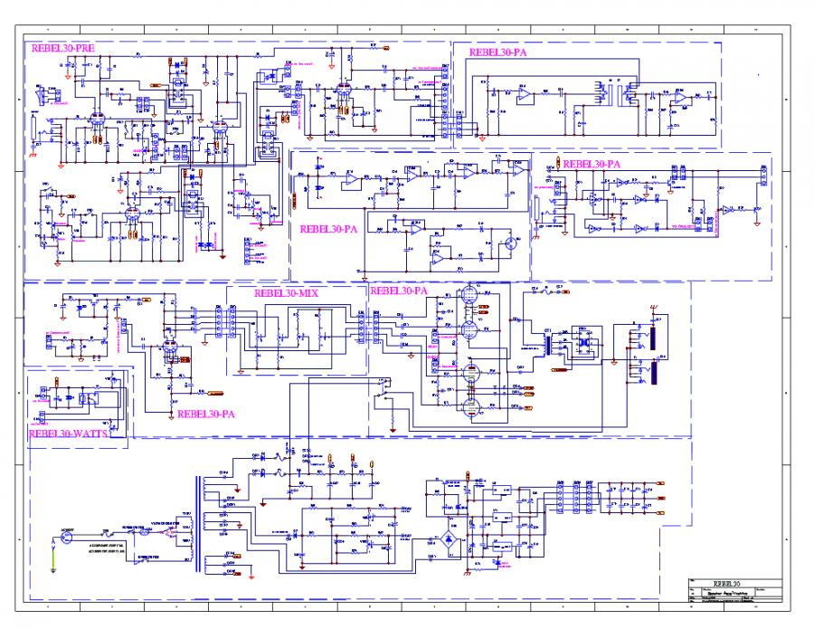 Egnater Amp Schematic - Go Wiring Diagrams on