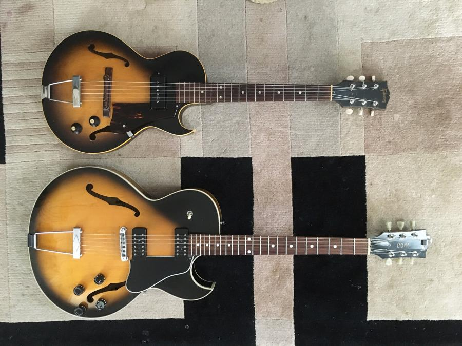 1956/7 Gibson ES-140T - Natural-two-jpg