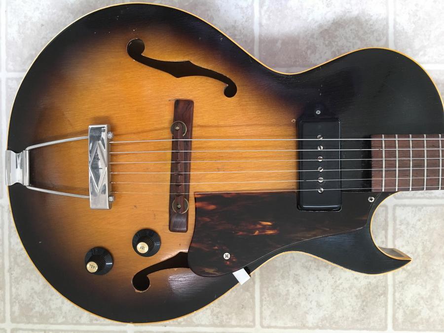 1956/7 Gibson ES-140T - Natural-fr-jpg