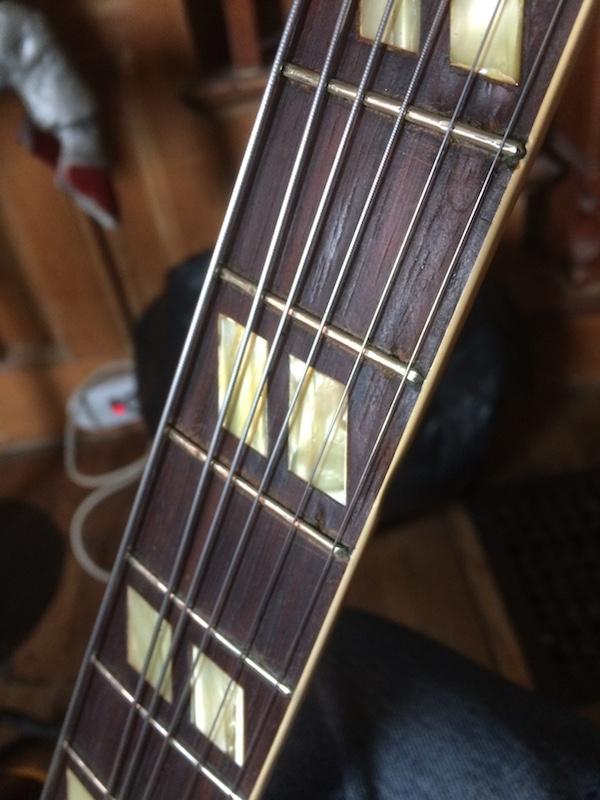 1953 Gibson ES-175-closeupfretweares1751956-jpg