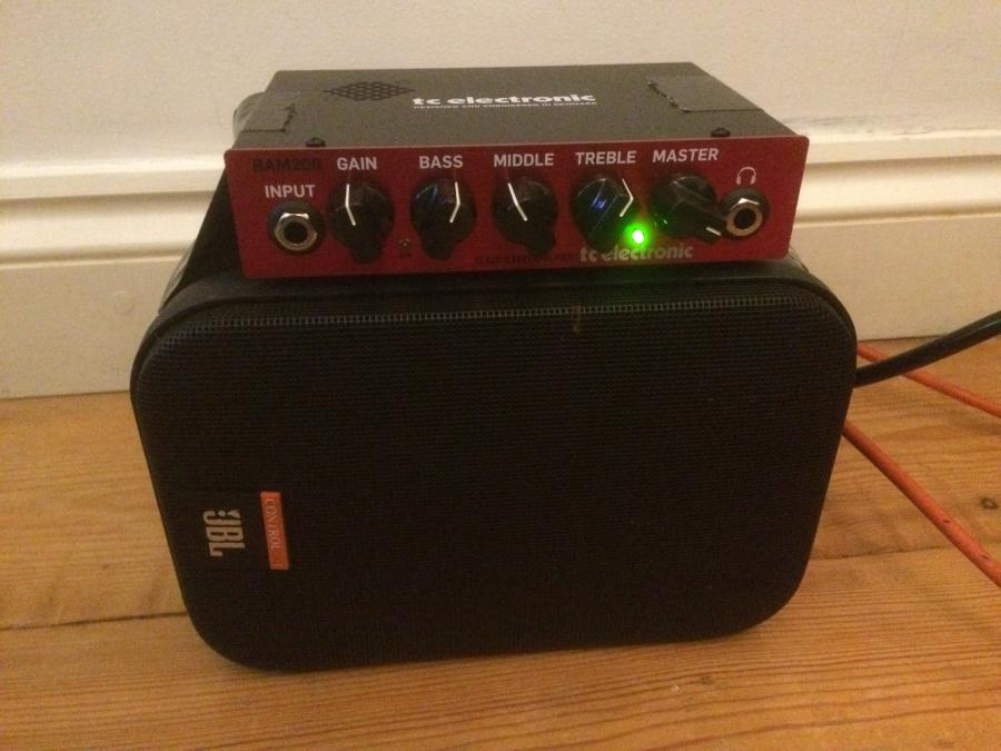 TC Electronic bam 200 head for jazz guitar
