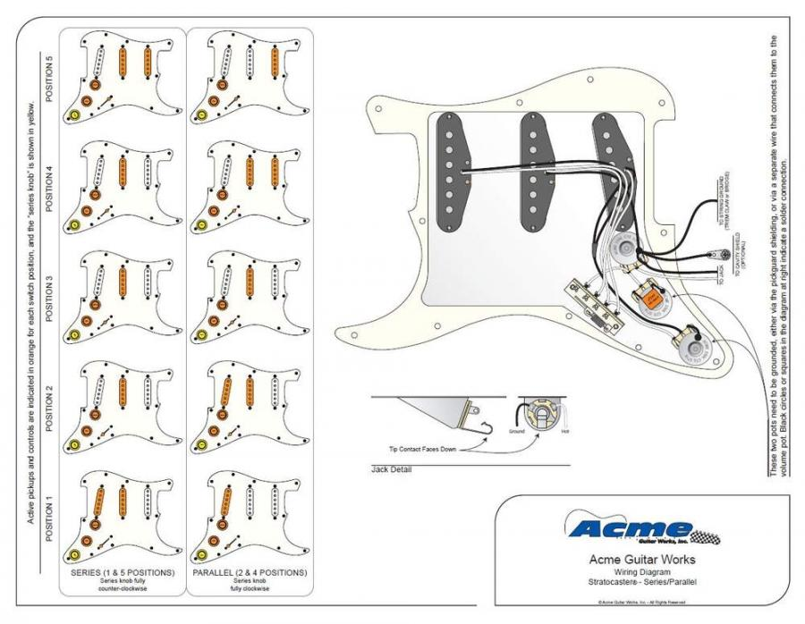 wire diagram for stratocaster series series wiring fatten up strats and teles   series wiring fatten up strats and teles