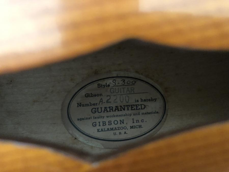 1951 Gibson super 300 advice needed