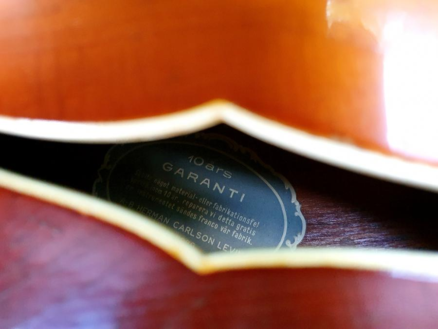 1946 Levin Solist Archtop Strings question-07-jpg