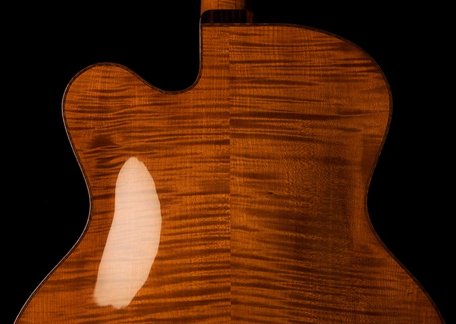 Modern jazz guitars with cello / violin like finish-koentopp-3-jpg