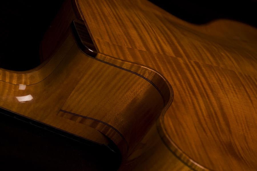 Modern jazz guitars with cello / violin like finish-koentopp-9-jpg