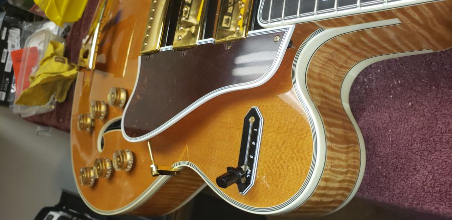 Do I have to remove the bridge when shipping a thinline archtop guitar?-1-jpg