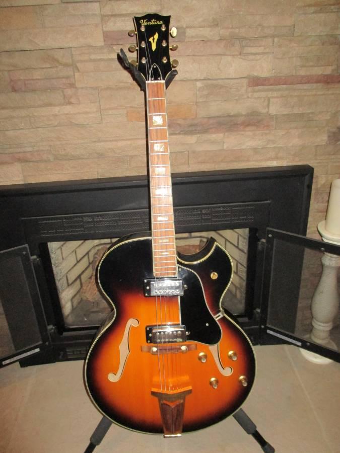 New Ventura V1300 Jazz Guitar- ES-175 Copy-ventura-1-jpg
